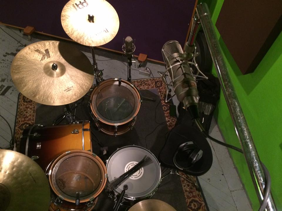Over Head Shot of drums